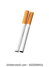 cigarretes isolated on white background