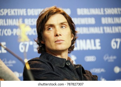 Cillian Murphy attends the 'The Party' press conference during the 67th Berlinale International Film Festival Berlin at Grand Hyatt Hotel on February 13, 2017 in Berlin, Germany