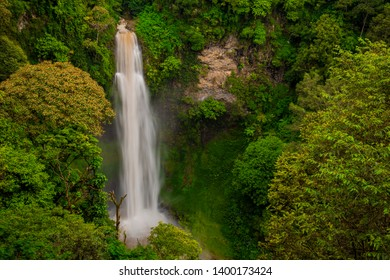 Cimahi Waterfall is a waterfall located on Jalan Colonel Masturi, Kertawangi Village, Cisarua District, West Bandung Regency, West Java. With a height of about 87 meters, making this waterfall as one