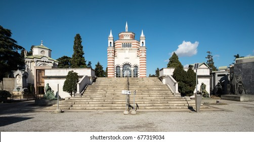 The Cimitero Monumentale (Monumental Cemetery) is one of the two largest cemeteries in Milan, Italy. It is noted for the abundance of artistic tombs and monuments.