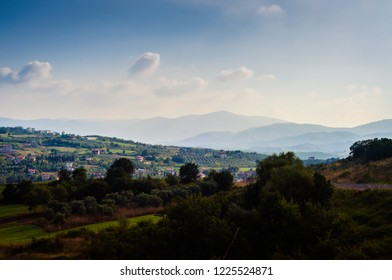 Village On Top Of A Hill Images, Stock Photos & Vectors