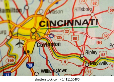 Cincinnati Map Stock Photos, Images & Photography | Shutterstock on