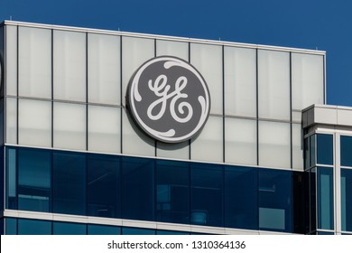Cincinnati - Circa February 2019: General Electric Global Operations Center. Financial troubles have forced GE to seek buyers for many of its divisions II