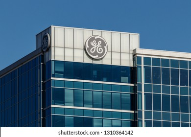 Cincinnati - Circa February 2019: General Electric Global Operations Center. Financial troubles have forced GE to seek buyers for many of its divisions I