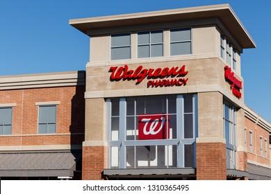 Cincinnati - Circa February 2019: Walgreens Retail Location. Walgreens is an American Pharmaceutical Company II