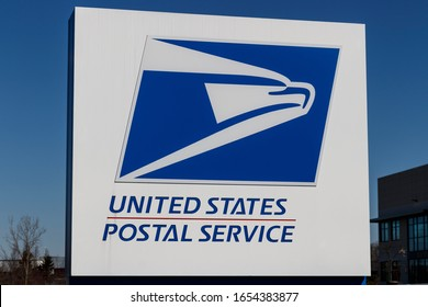 Cincinnati - Circa February 2020: USPS Post Office location. The USPS is responsible for providing mail delivery and providing postal service.