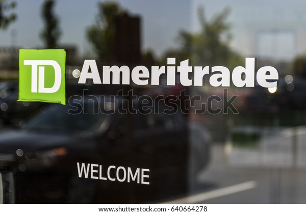 Cincinnati - Circa May 2017: TD Ameritrade local branch office. TD Ameritrade in an online broker of stocks and investments I