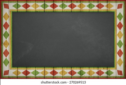 Cinco de Mayo, USA Mexican Celebration, Backgrounds. blank blackboard