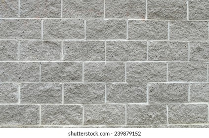 Cinder Block Wall Background.
