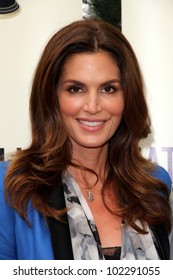 Cindy Crawford at the  2012 Satellite Award for Outstanding Achievement in the Field of Entertainment Client Relations honoring Brian Edwards, Cafe La Boheme, West Hollywood, CA 05-02-12