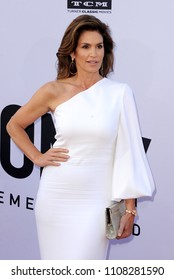 Cindy Crawford at the AFI's 46th Life Achievement Award Gala Tribute To George Clooney held at the Dolby Theatre in Hollywood, USA on June 7, 2018.