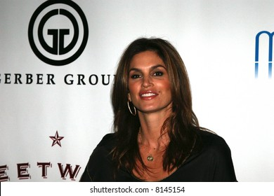 Cindy Crawford at the opening of the Moonstone Bar ans Sweetwater Saloon, Hard Rock Hotel San Diego. Gerber  Moonstone Hard Rock Sweetwater Saloon