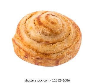 cinnamon buns isolated on white background