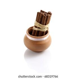 Cinnamon in the jar