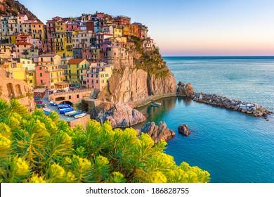 Cinque Terre, Italy - italian coast landscape