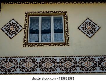 Ciocanesti, museum village in Bucovina, Romania
