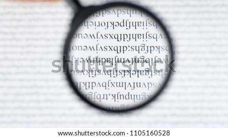 cipher encryption code data reading word stock photo edit now