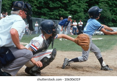 CIRCA 1991 - Baseball player at bat, Hebron, Connecticut
