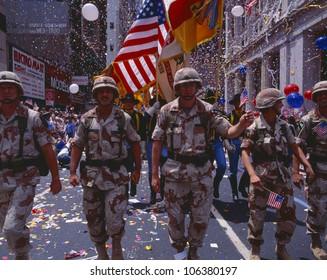 CIRCA 1991 - Desert Storm Victory Military Parade, Washington DC