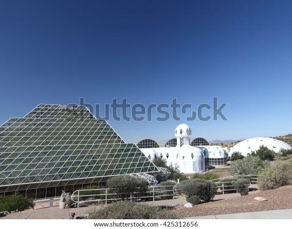 CIRCA 1992, Biosphere 2, Arizona