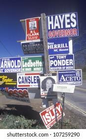 CIRCA 1996 - Miscellaneous political signs