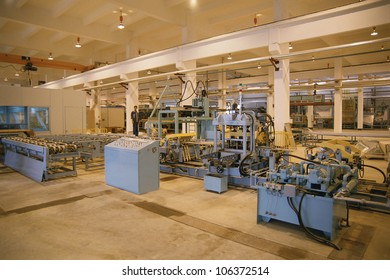 CIRCA 1999 - Assembly line in appliance factory