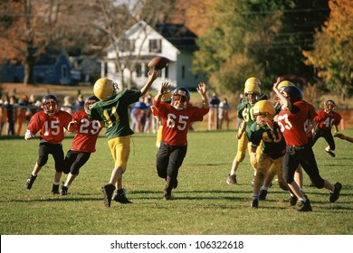CIRCA 1999 - Youngsters playing football
