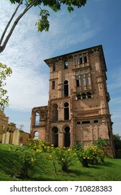 Circa 2008, Perak, Malaysia: A view of an old building from british colonial kelly castle