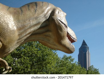Tyrannus saurus rex images stock photos vectors shutterstock circa april 2007 frankfurt a real size model of a tyrannus saurus rex dinosaur thecheapjerseys Image collections