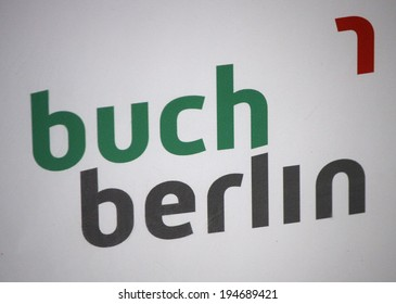 "CIRCA APRIL 2014, BERLIN: the logo of the brand ""Buch Berlin"", Berlin."