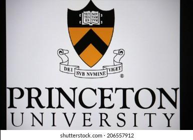 "CIRCA JUNE 2014 - BERLIN: the logo of the educational institution ""Princeton University""."