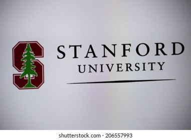 """CIRCA JUNE 2014 - BERLIN: the logo of the educational institution """"Stanford University""""."""