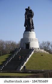 CIRCA MARCH 2013 - BERLIN: the Soviet War Memorial in the Treptow district of Berlin.