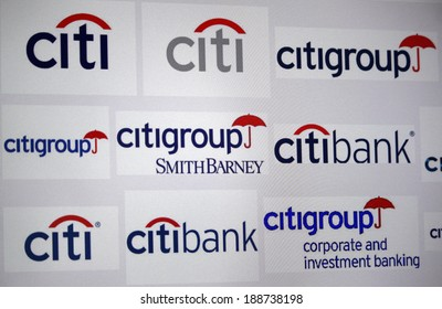 Citigroup images stock photos vectors shutterstock circa march 2014 berlin the logo of the brand citibank and altavistaventures Image collections