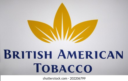 "CIRCA MAY 2014 - BERLIN: the logo of the brand ""British American Tobacco""."
