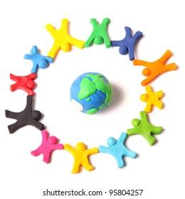 circle of diversity around the world