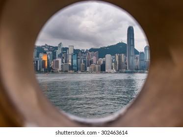 Circle of Hongkong City