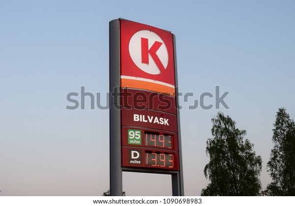 Circle K Gas Prices >> Circle K Fuel Prices Sign Lights Stock Photo Edit Now