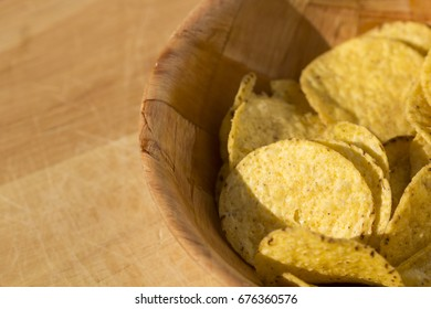 Circle nachos