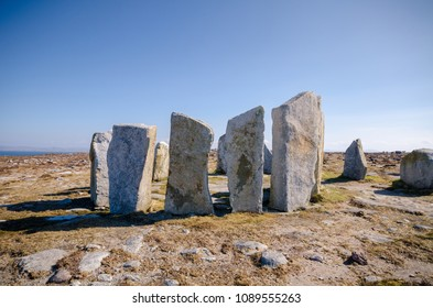 Circle stones in Belmullet Co. Mayo - Ireland
