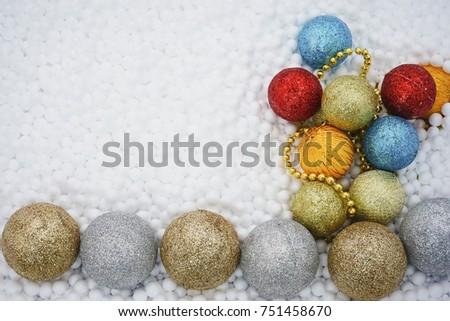 Circle Styrofoam Balls Texture Polystyrene Foam Stock Photo Edit