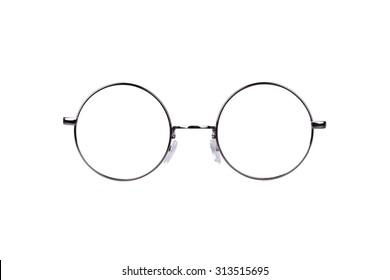 Circle vintage glasses
