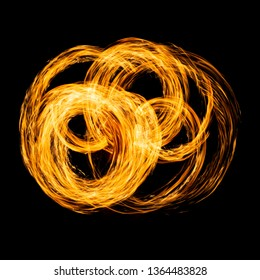 Circles of fire taken with long speed shutter technic.