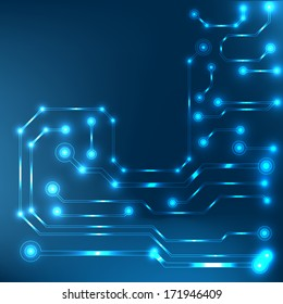 circuit board background. bitmap
