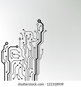 circuit board background texture. jpg version