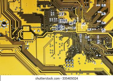 Circuit board digital highways of computer