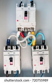 circuit breakers were installed in steel main distribution board