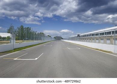 The Circuit Gilles Villeneuve, Montreal, Quebec, Canada