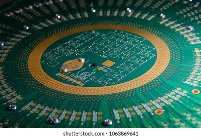 circuit pcb board for background