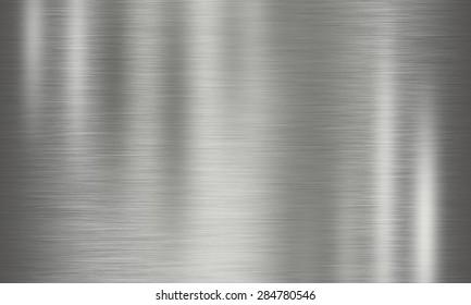 circular brushed metal texture